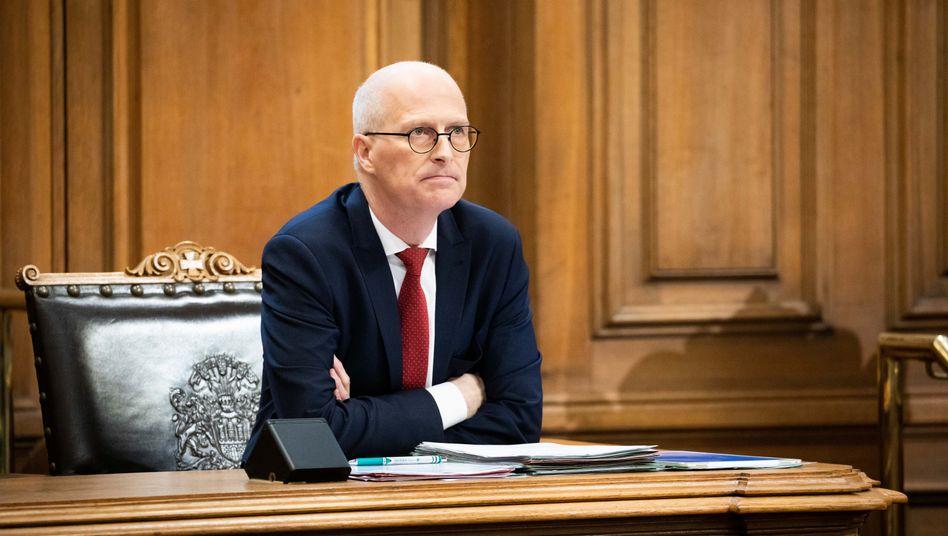 Hamburgs Bürgermeister Peter Tschentscher