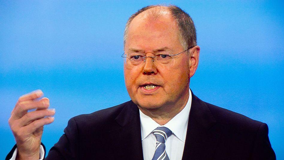 Peer Steinbrück: Hat seine Sache großartig gemacht