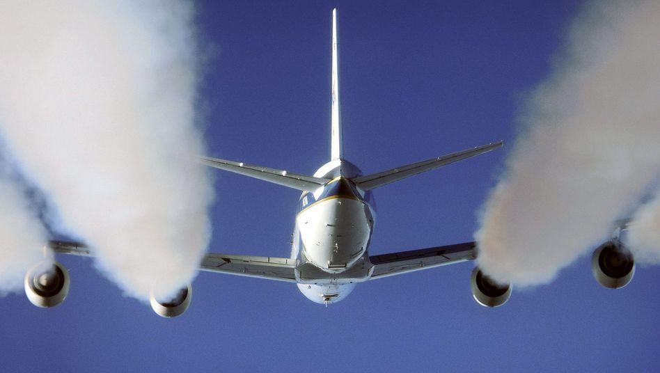 Flugzeug: Emissionen aus der Luftfahrt haben sich seit 1990 verdoppelt