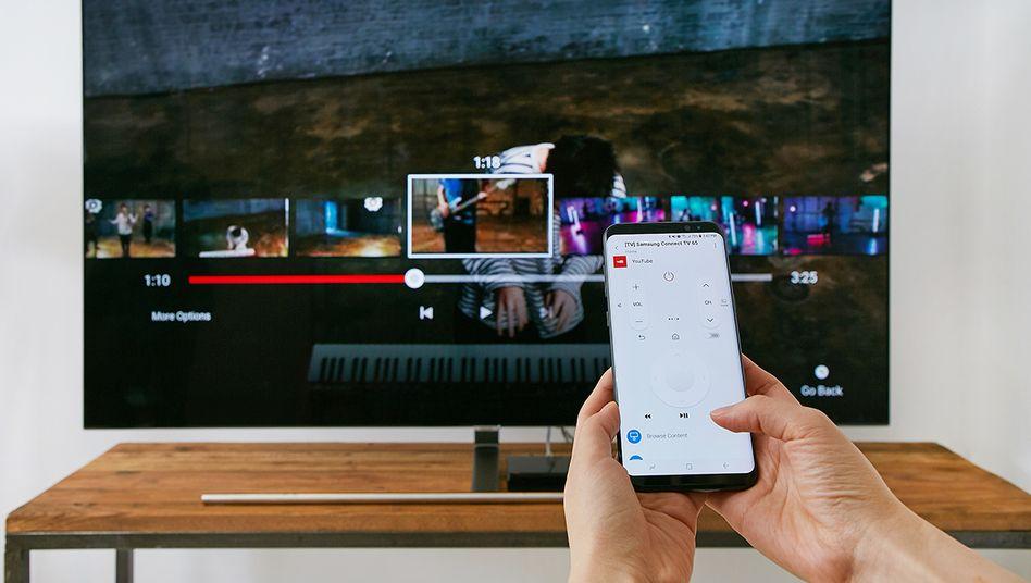 Galaxy S8 bei seiner Präsentation 2017: Samsung ist die Schwachstelle bekannt