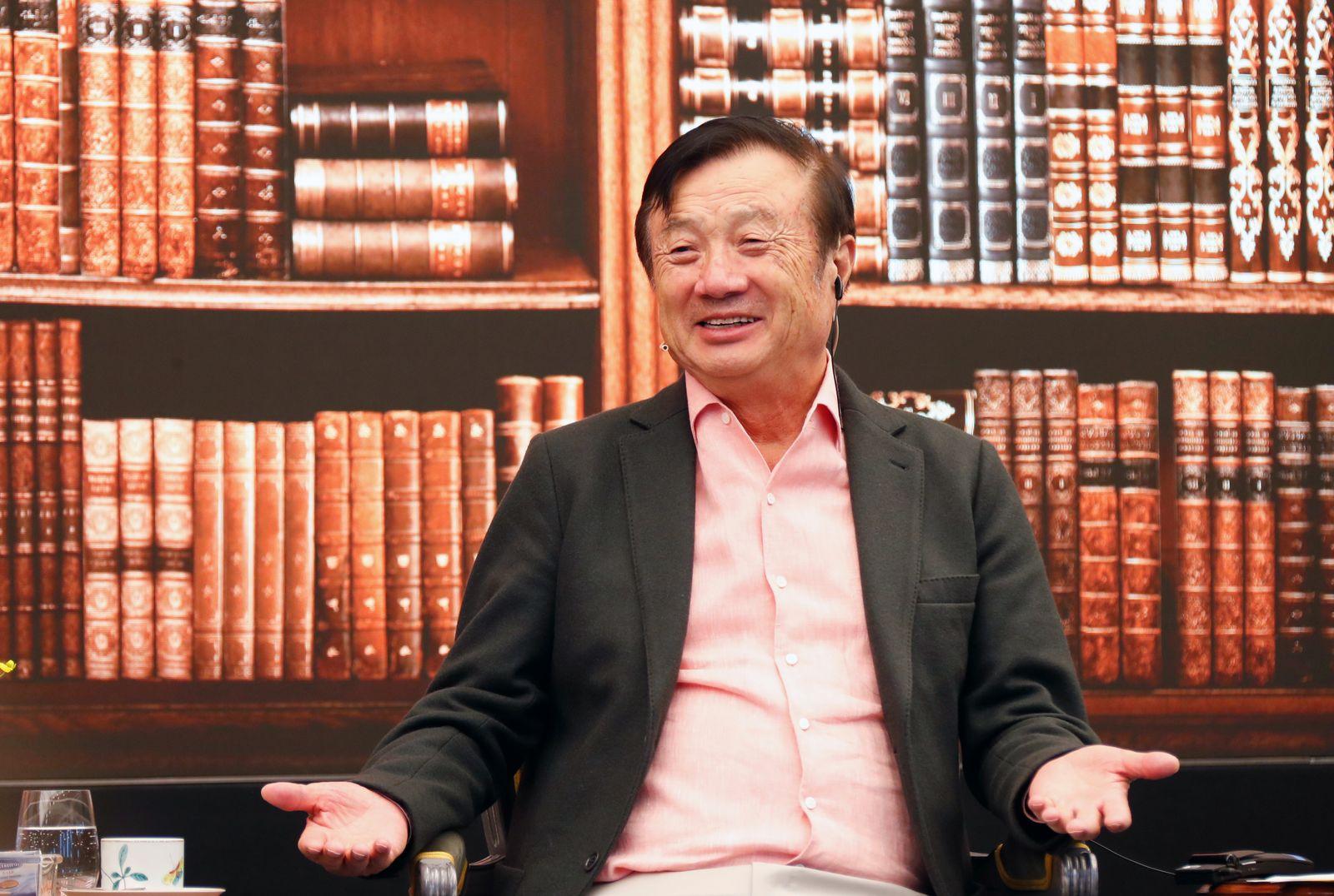 EINMALIGE VERWENDUNG Ren Zhengfei