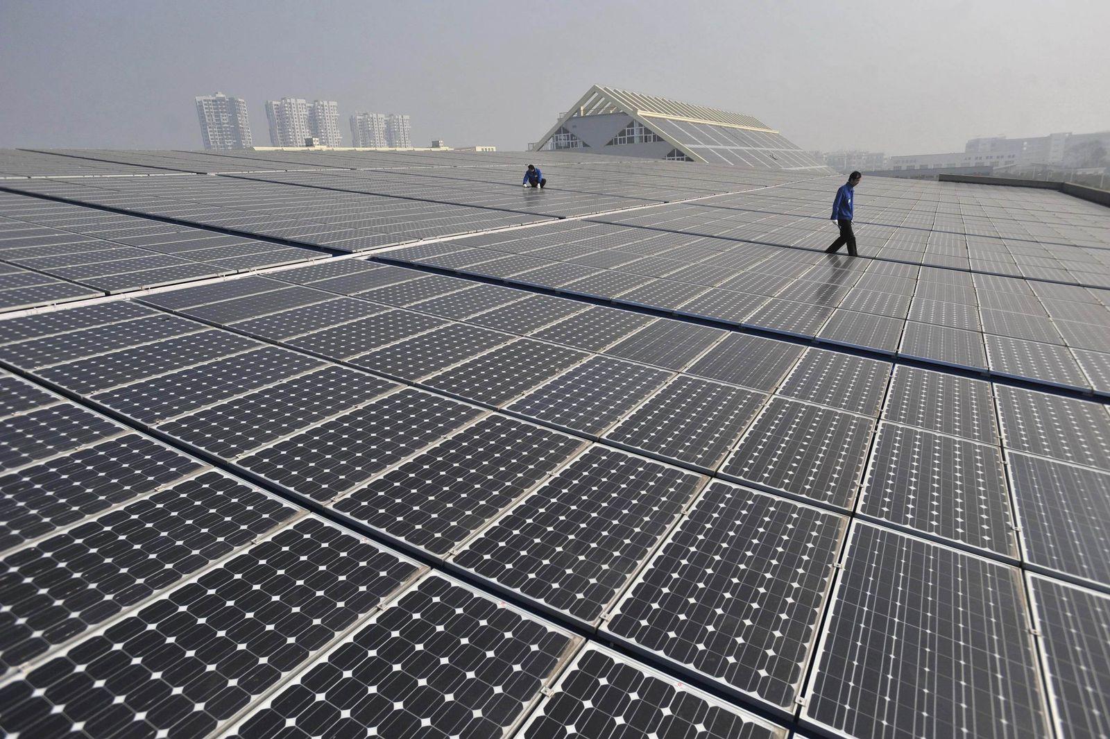 Solarzellen/ China