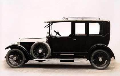 """Silver Ghost: Zwei Jahre nach Firmengründung schufen Rolls und Royce """"das beste Auto der Welt"""", das Modell 40/50 H.P."""