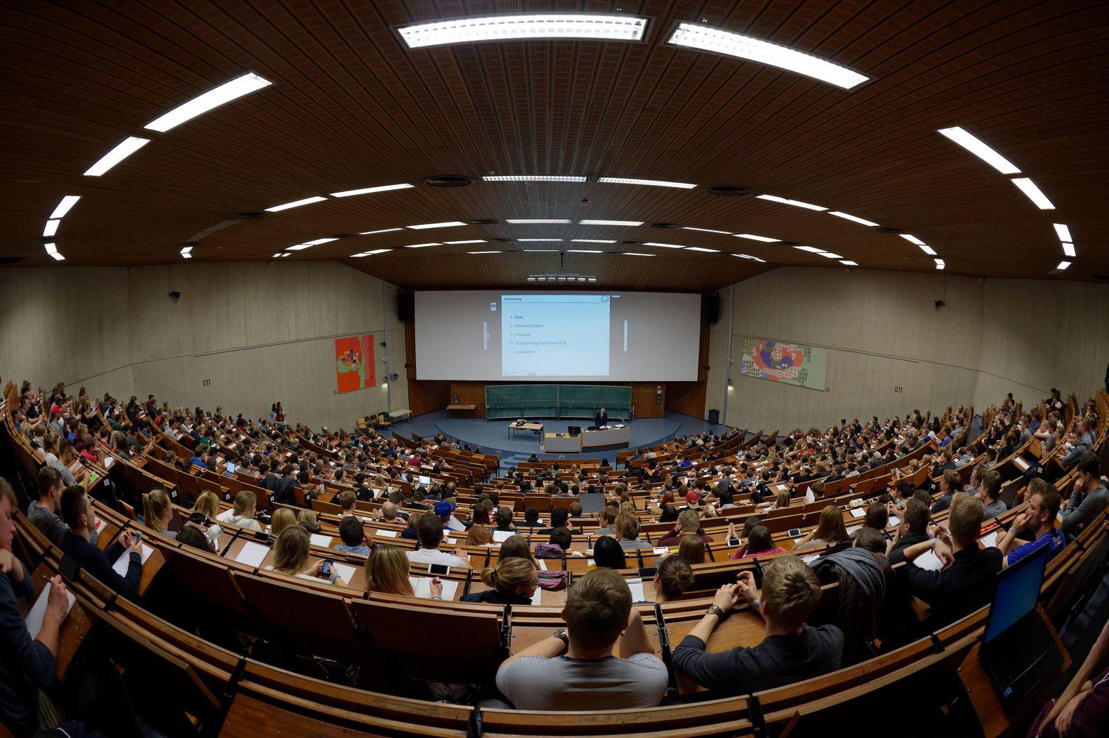 Studenten in Göttingen / Studentenrekord