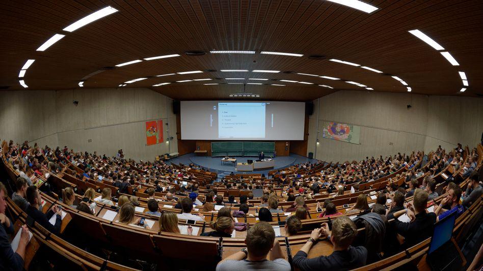 Volle Hörsäle zum Wintersemester: Studenten an der Uni Göttingen