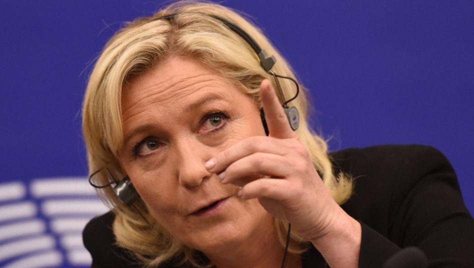 Marine Le Pen: Rechte wollen Fraktion gründen