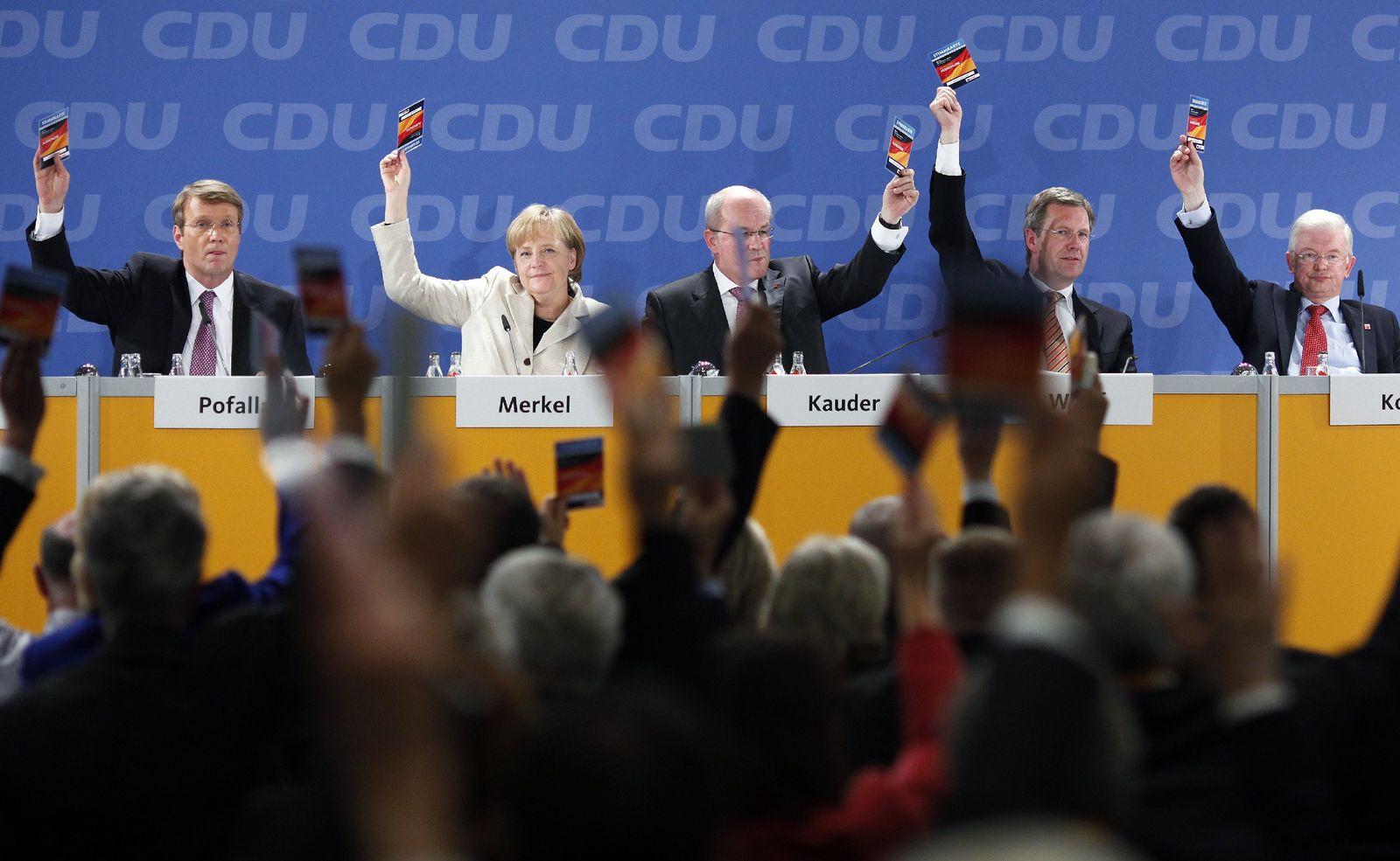 CDU-Bundesausschuss in Berlin