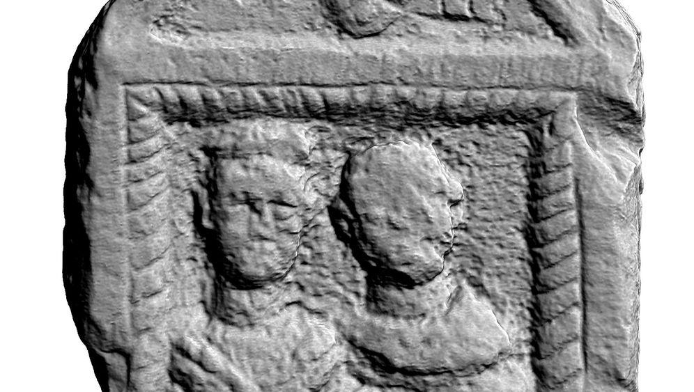 Römischer Wall: Gescannte Skulpturen