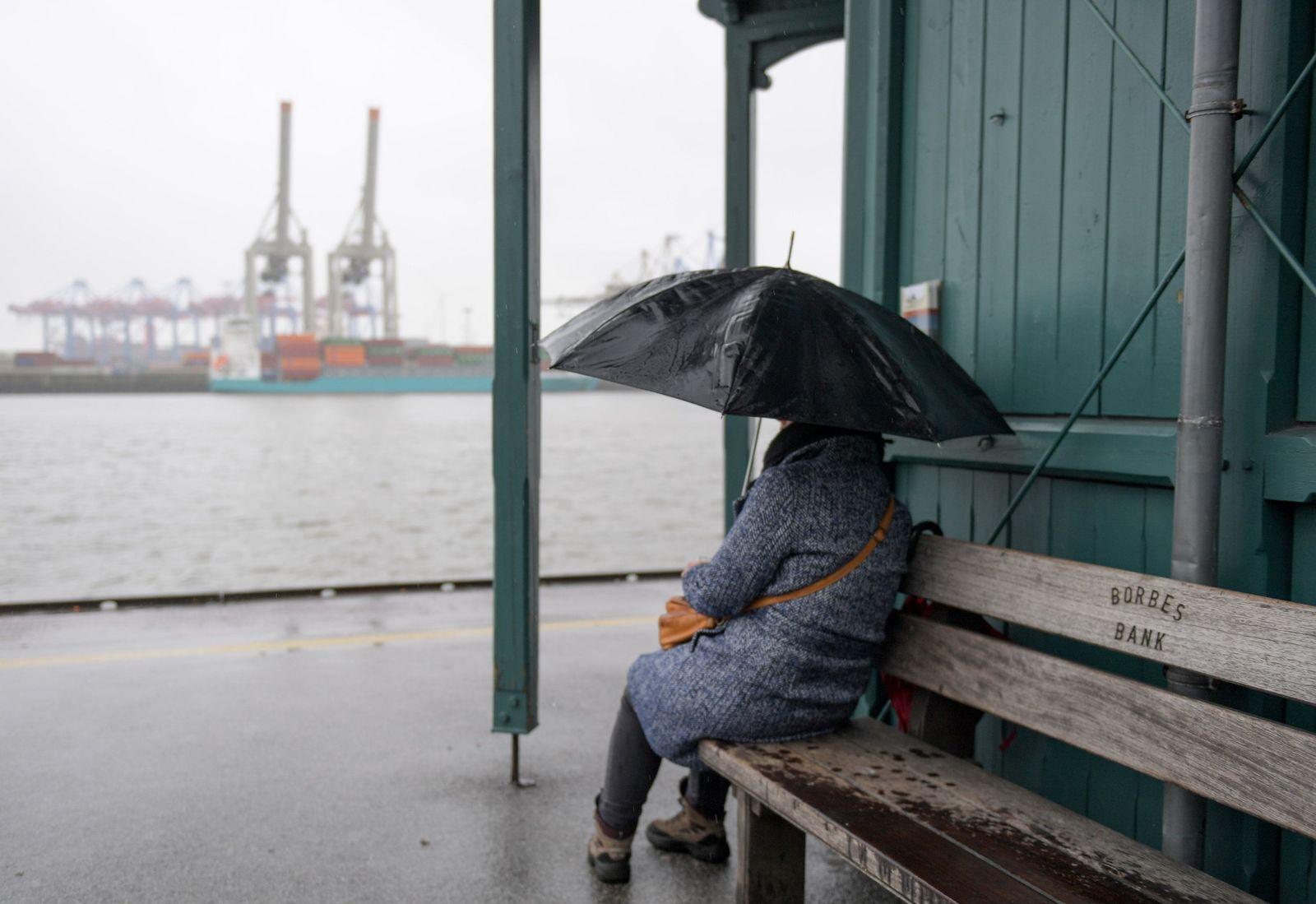 Regen in Hamburg