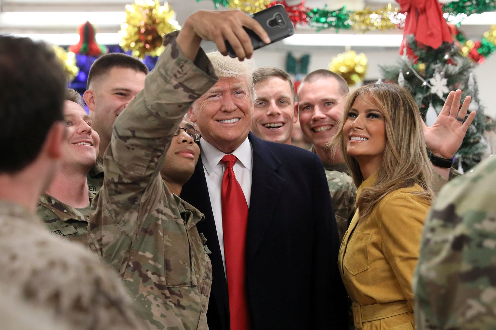 USA-TRUMP Irak