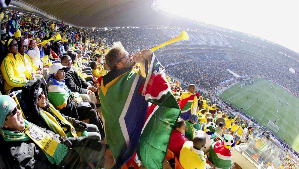 Vuvuzelas: Tröten bis zur Schmerzgrenze