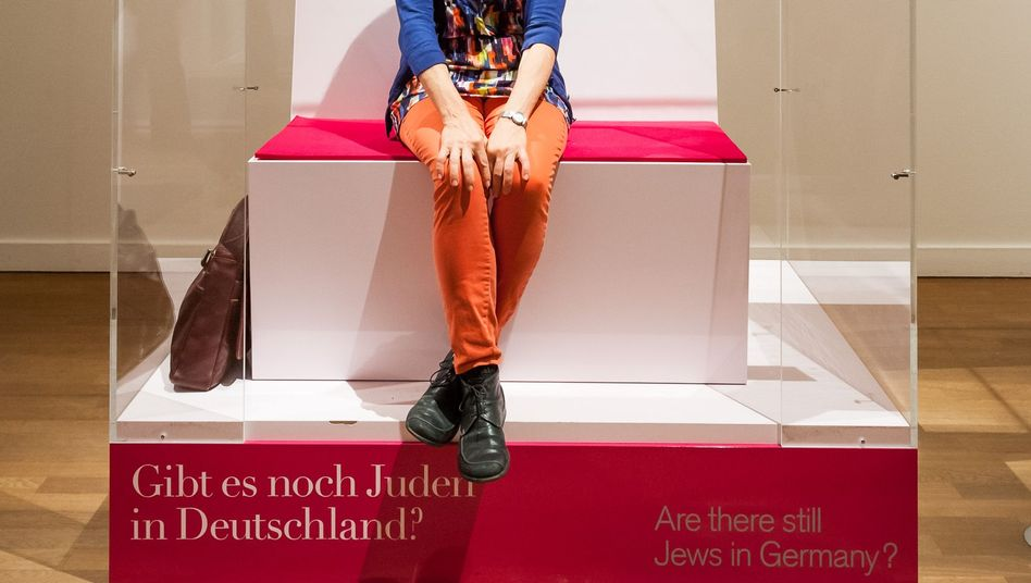 """Journalist Miriam Widman: """"If there aren't many Jews around, meeting one in a box in a museum is better than not having any contact."""""""