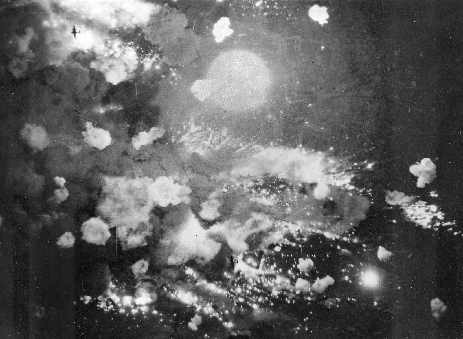 Pforzheim Bombardierung - WWII Germany