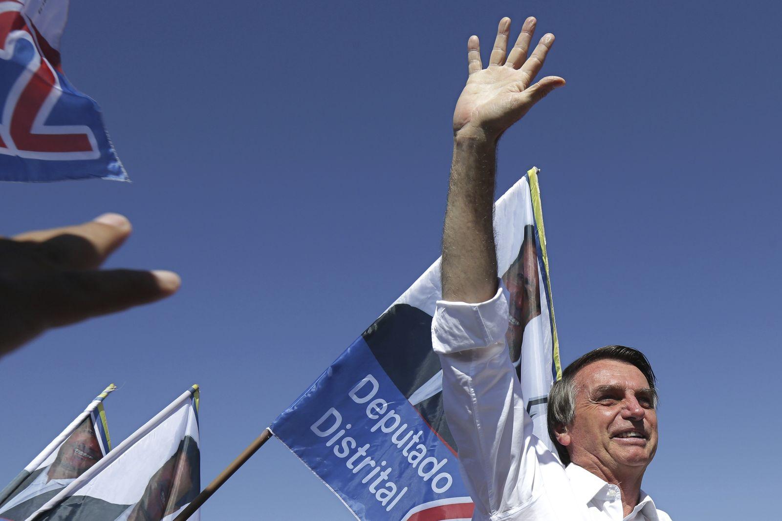 Vor der Wahl in Brasilien - Jair Bolsonaro