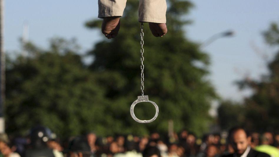 Hinrichtung in Iran (Archiv)