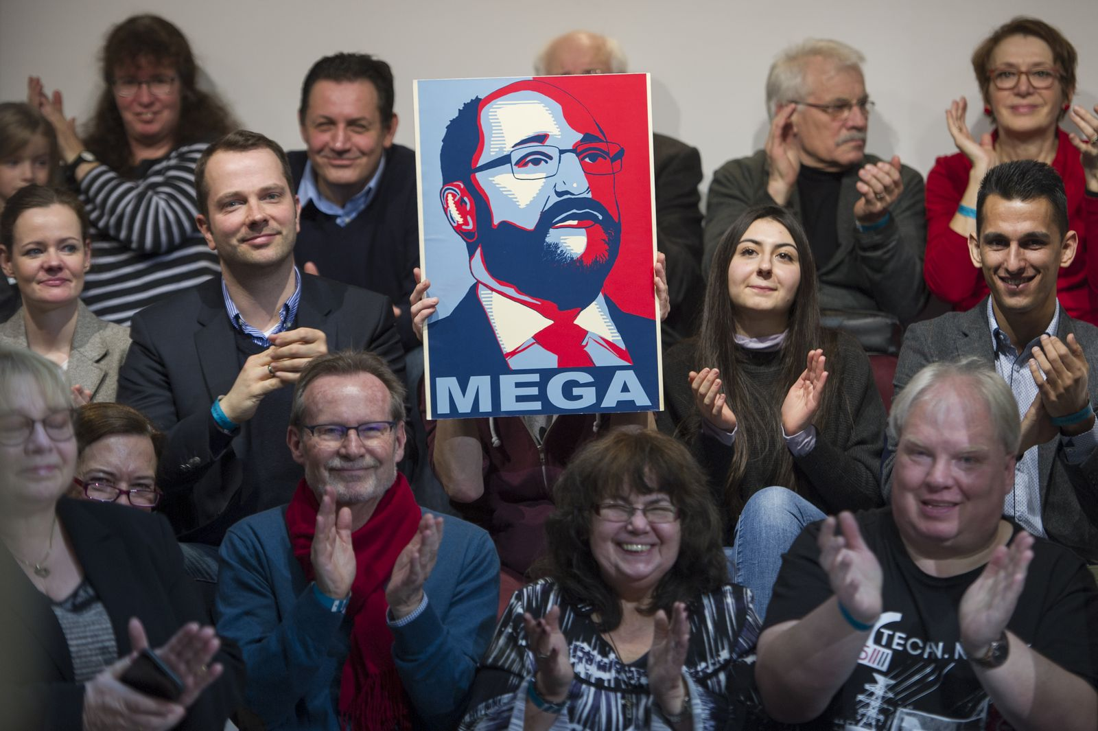 Martin Schulz/ Plakat
