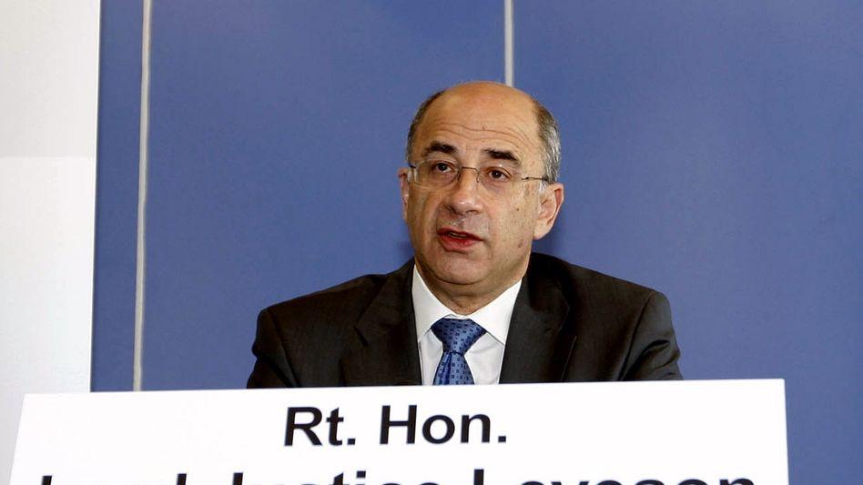 Ausschuss-Chef Leveson: Kritik an Politik, Polizei und Presse
