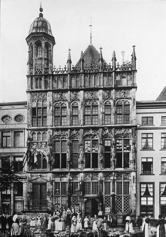 EINMALIGE VERWENDUNG Historisches Rathaus Wesel NRW