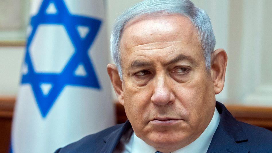 Benjamin Netanyahu in Jerusalem