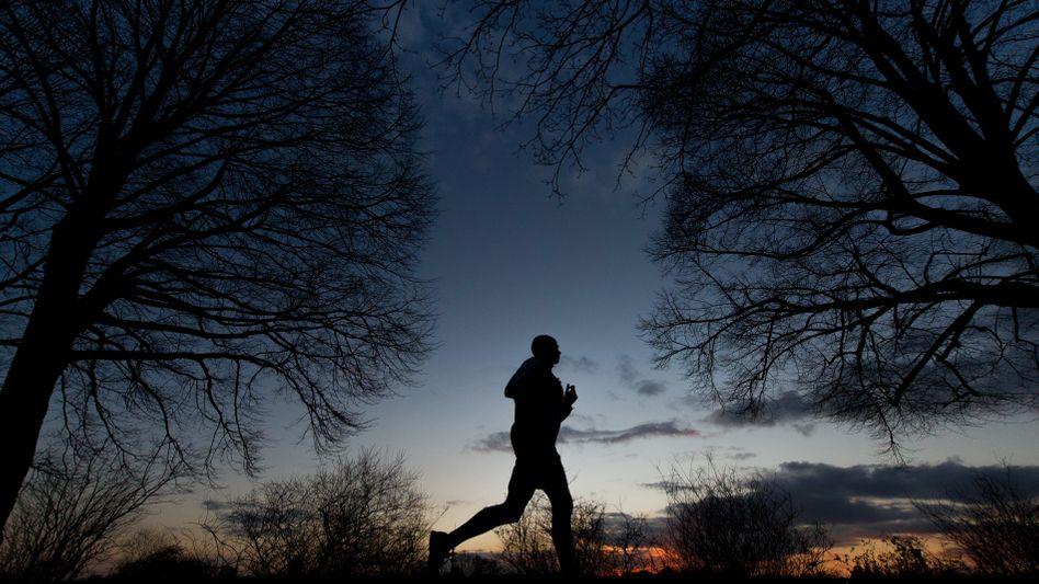 Joggen am Abend: wie Medizin
