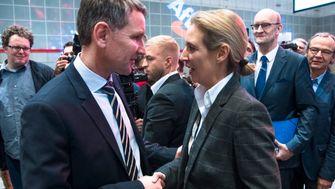 Höckes Flügel und Fraktionschefin Weidel schließen Bündnis