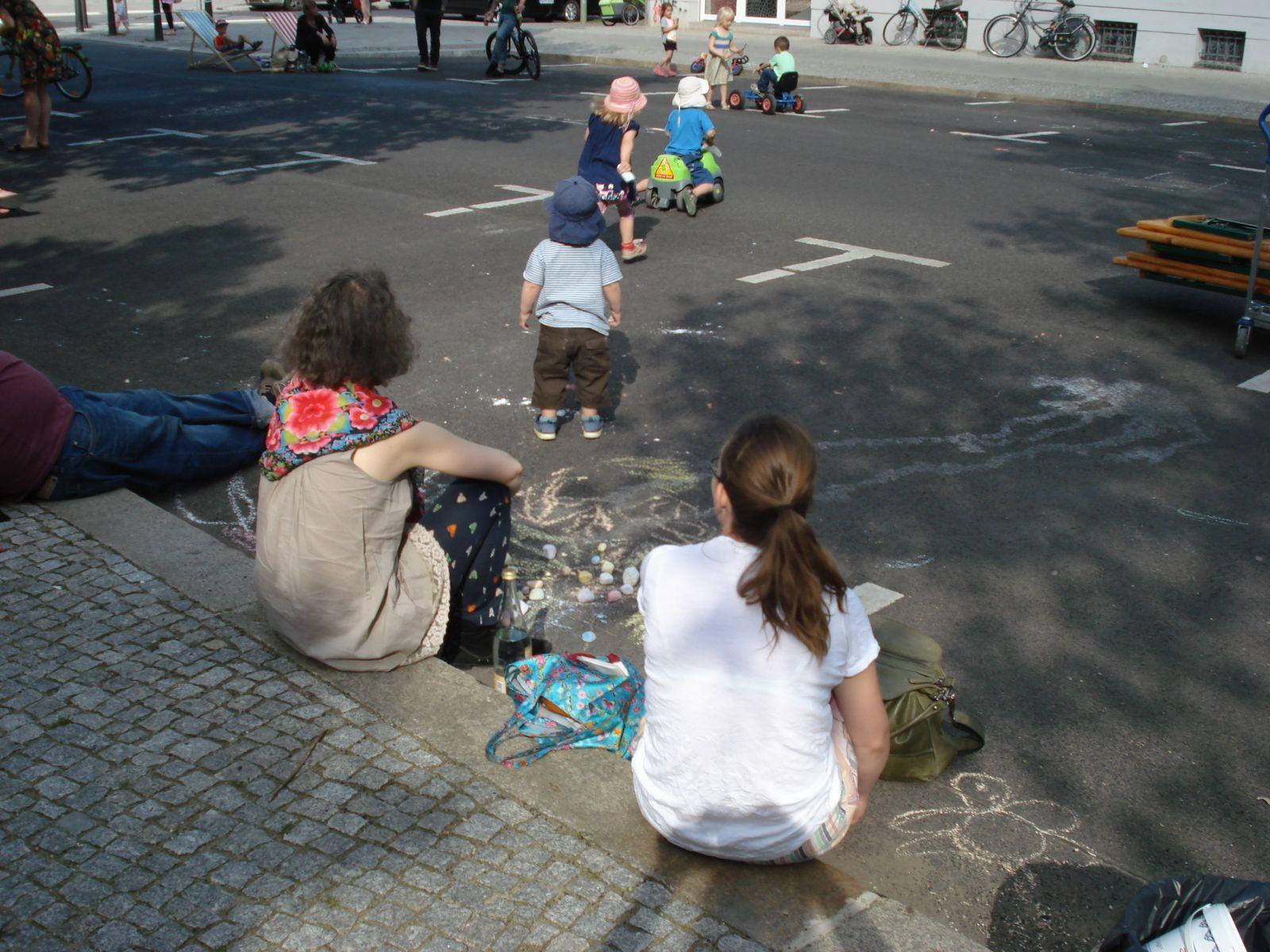 Temporäre Spielstraßen Berlin