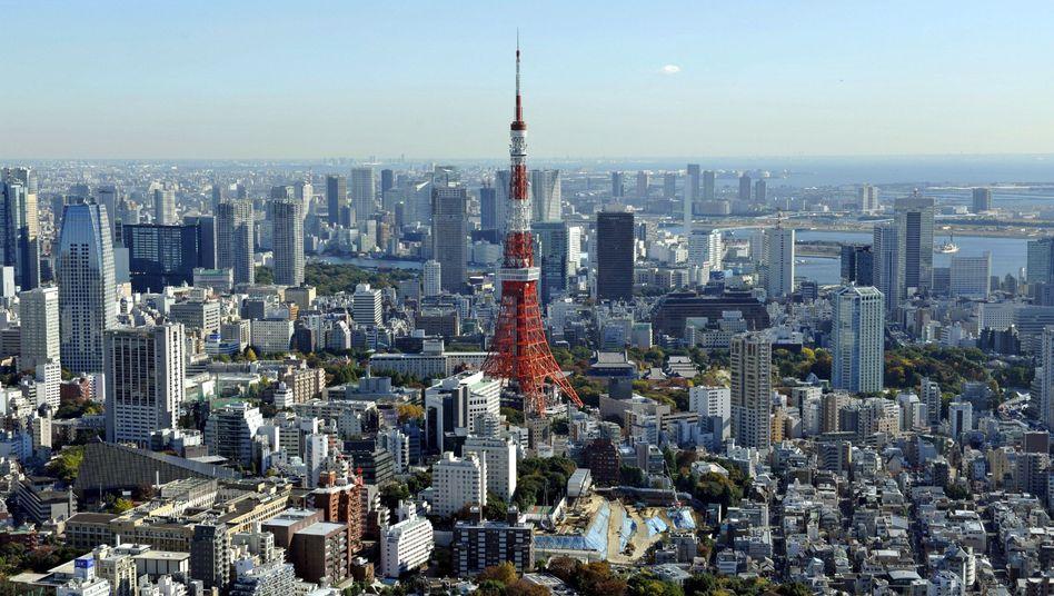 Skyline von Tokio: In Japan sind fast 200 Menschen nicht mehr auffindbar, die älter als hundert Jahre sind