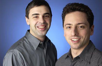 Google-Gründer Larry Page und Sergey Brin: Überlebende und Gewinner der Dotcom-Krise
