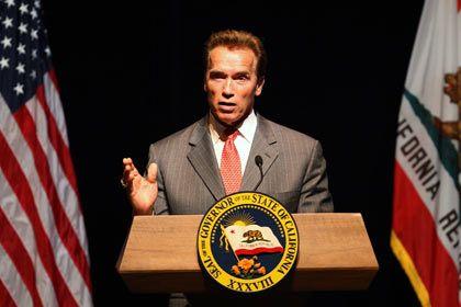 """Gouverneur Schwarzenegger: """"Wie ein spannender Film"""""""