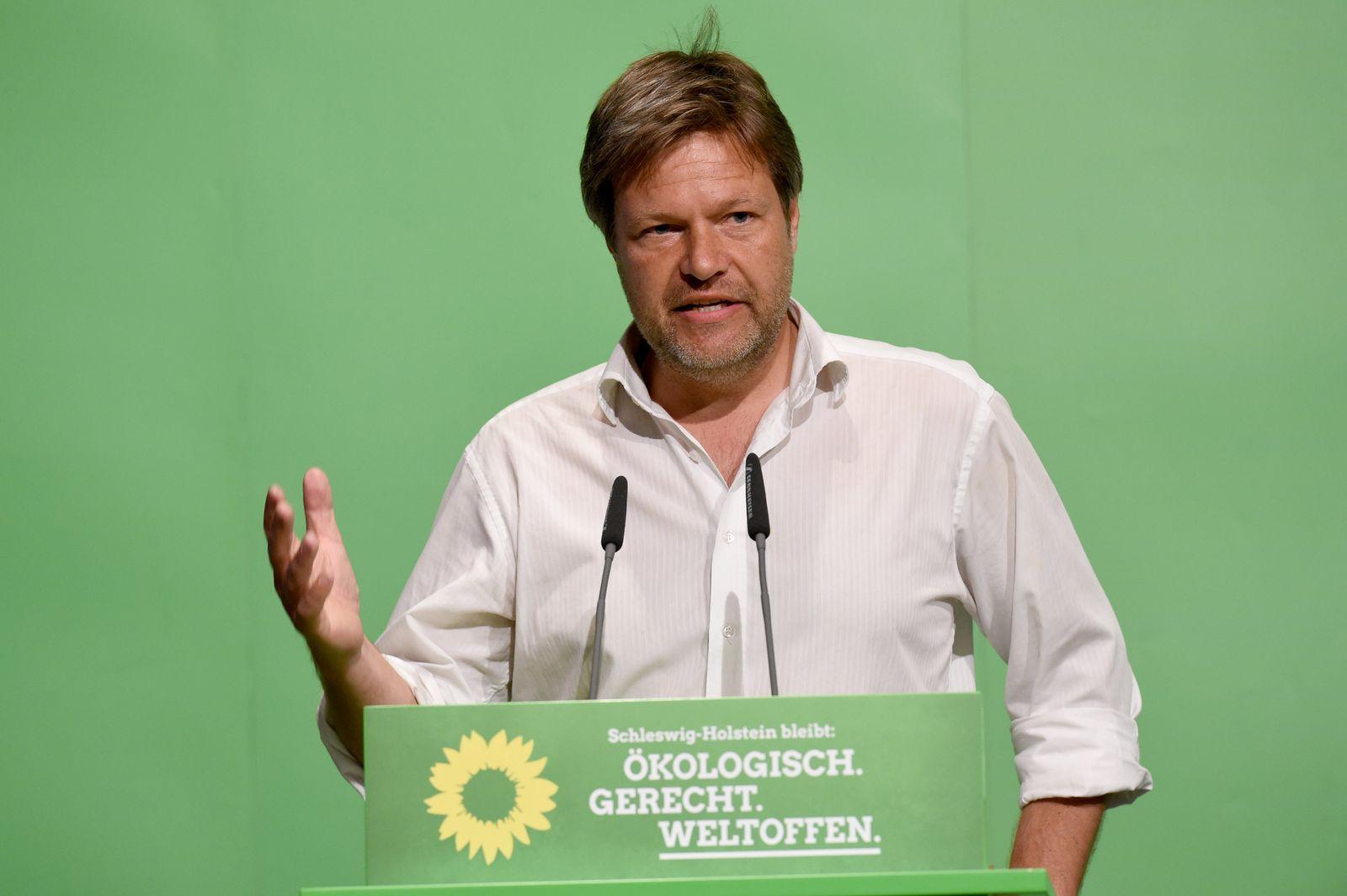 Jamaika Sondierung/ Parteitag der Grünen