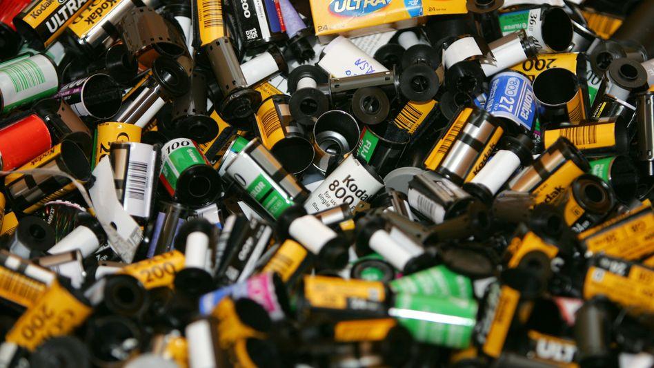 Leere Filmrollen: Kodak meldet Gläubigerschutz an