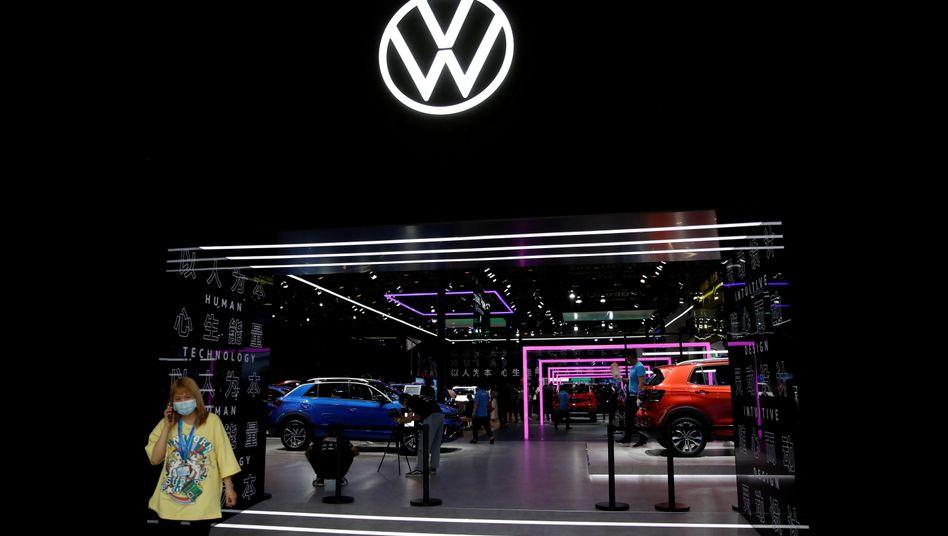 Volkswagen-Autohaus in Peking: Der Konzern ist zurück in der Gewinnzone