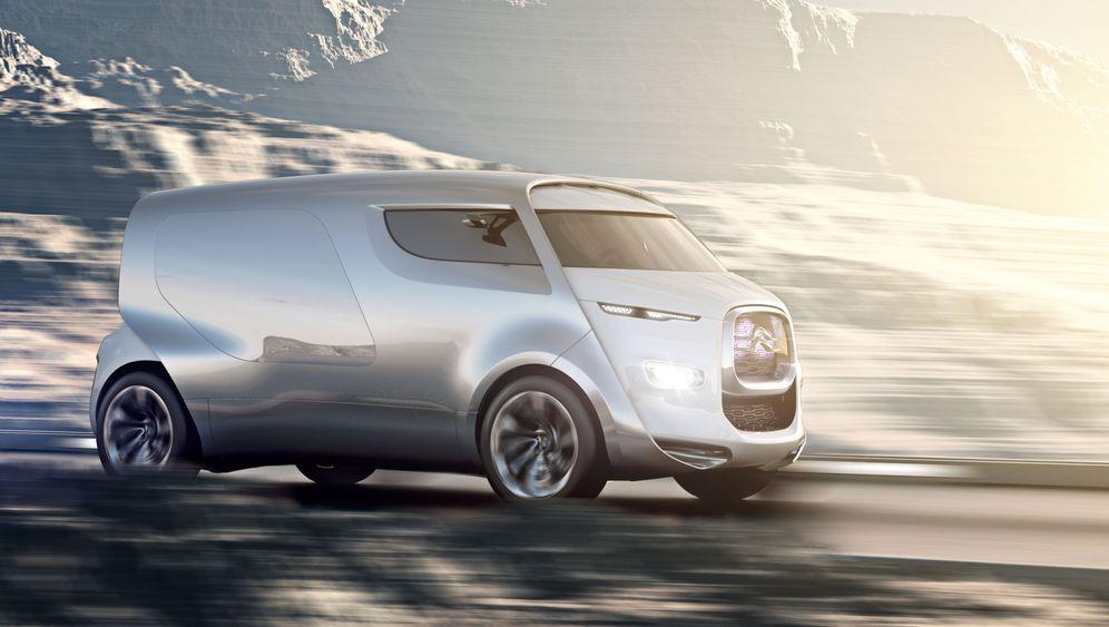 Citroën Tubik: Das Lounge-Zäpfchen