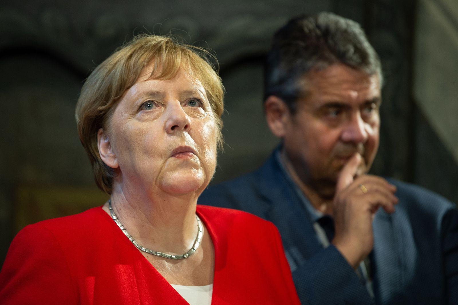 Bundeskanzlerin Merkel besucht Goslar