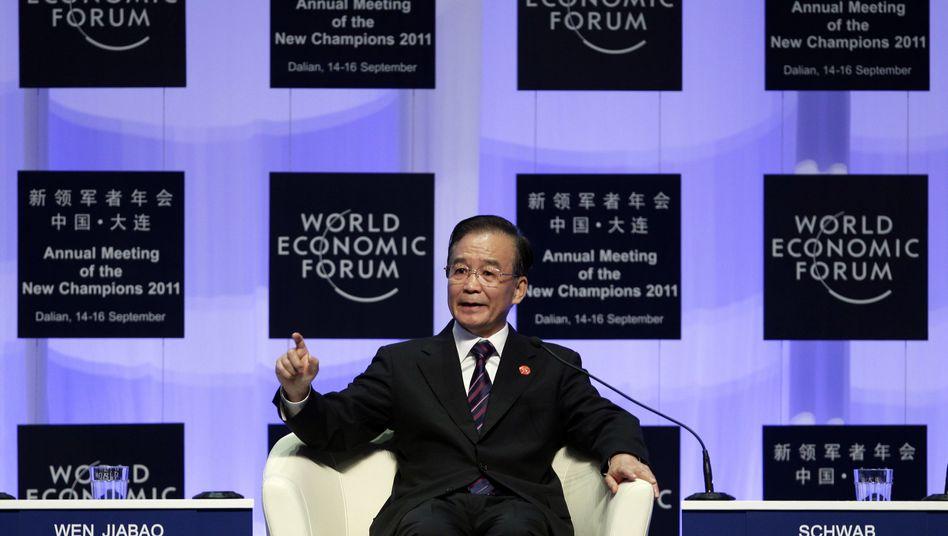 """Chinas Premier Wen Jiabao: Hilfe angeboten - """"mutige Schritte"""" gefordert"""