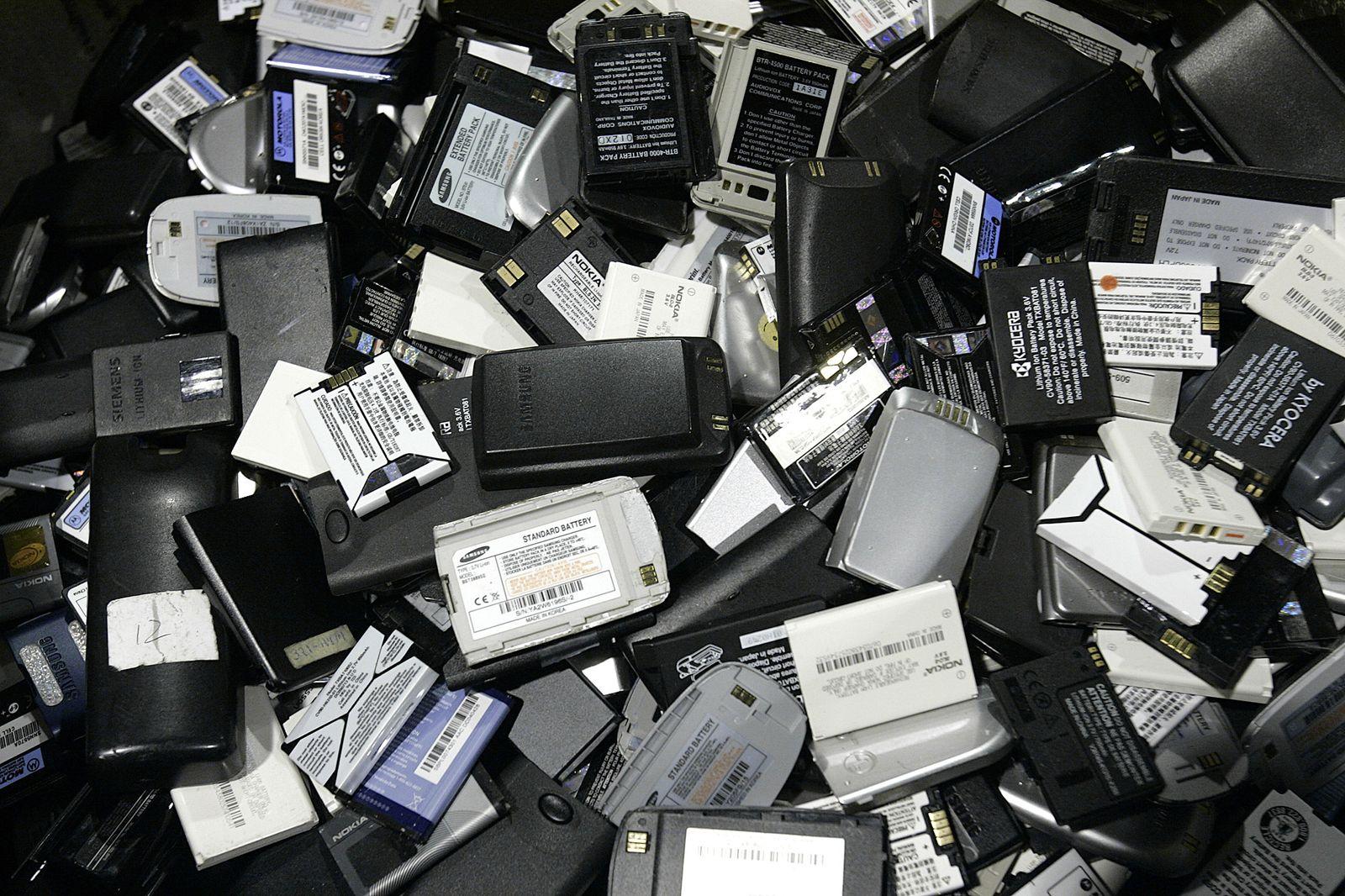 Smartphone-Akkus Lithium
