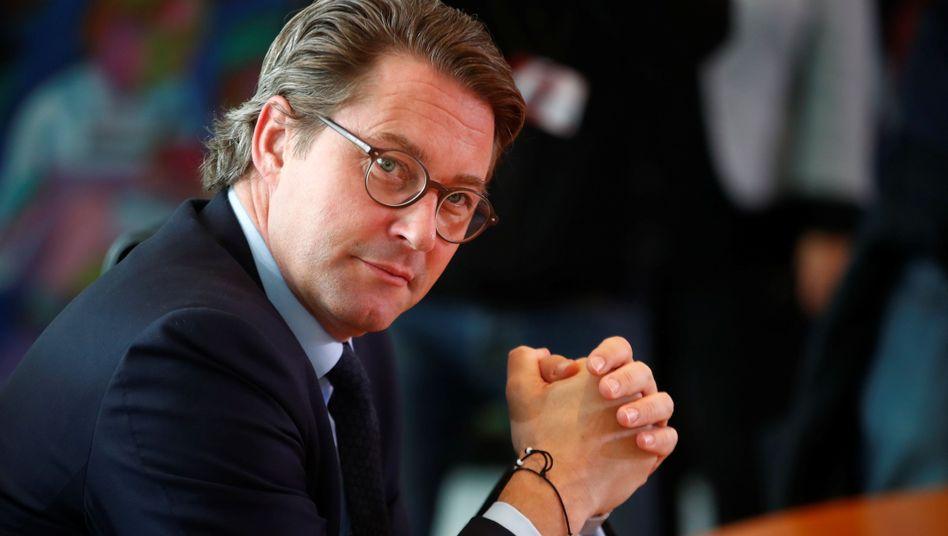 """Minister Scheuer: """"Weder vorbereitende noch nachbereitende Vermerke"""""""