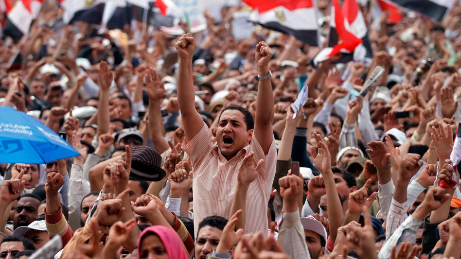 """Protest in Kairo: """"Die Feinde der Revolution werden das Land nicht regieren"""""""