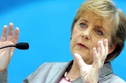 Merkel nach Präsidiumssitzung: Fahrplan offenlegen