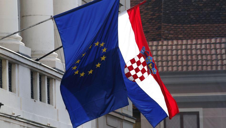 """Kroatisches Parlament in Zagreb: """"Besser, zum Club dazuzugehören, als alleine zu stehen"""""""
