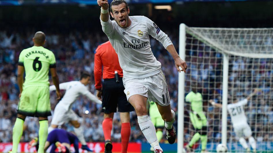 Real Madrid star forward Gareth Bale