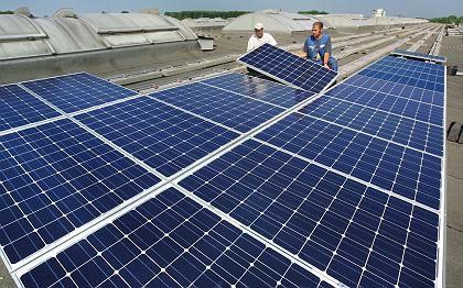 Solaranlage in Chemnitz: Investiert wird heute, gezahlt wird später