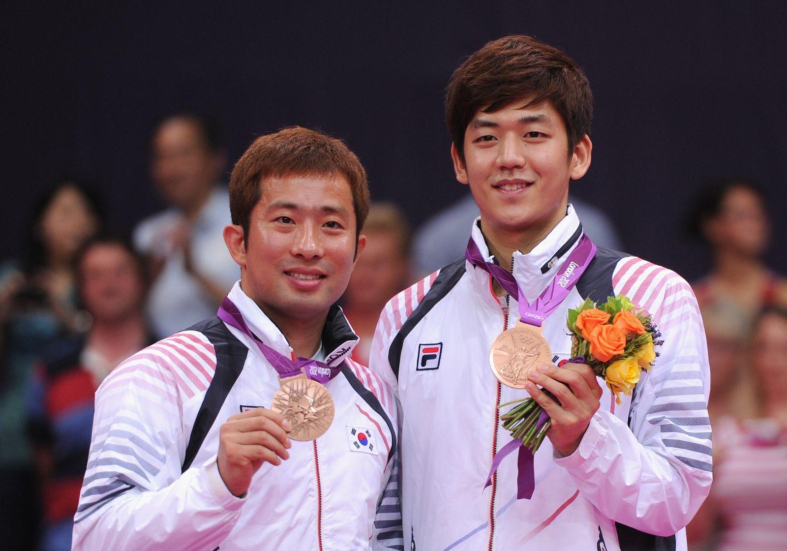 Jae Sung Chung/ Badminton/ Olympische Spiele 2012