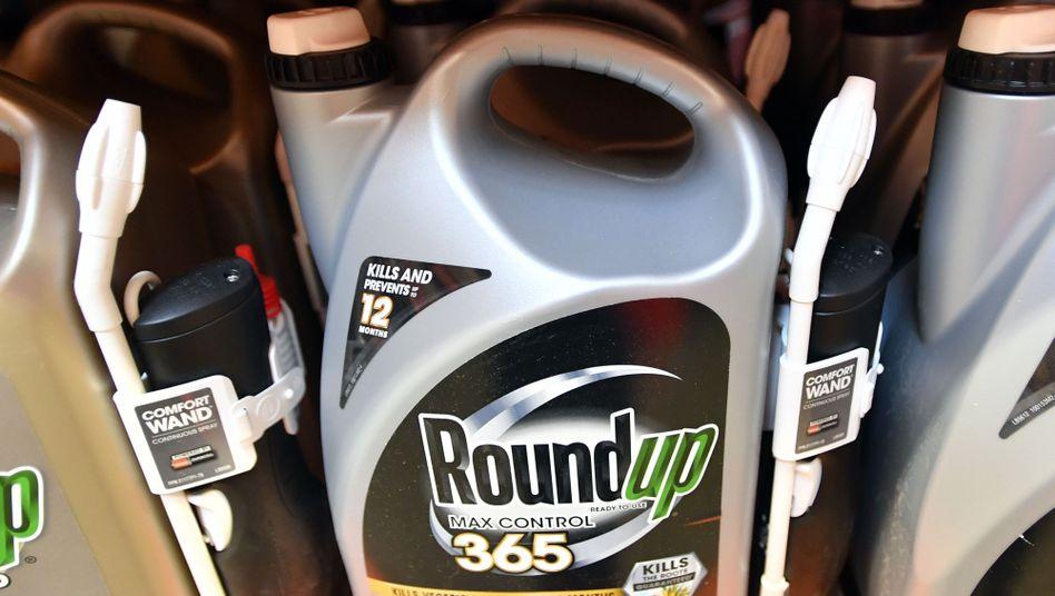 Roundup in einem Geschäft in Kalifornien