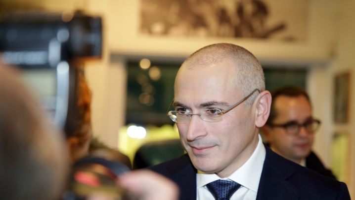 Freigelassener Chodorkowski: Erster großer Auftritt in Berlin