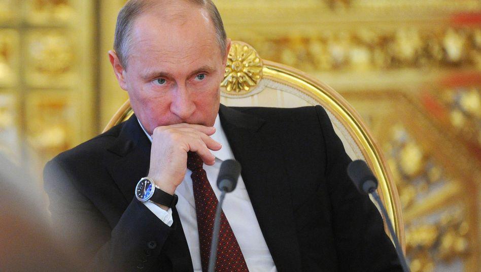 Russlands Präsident Putin: Scharfe Attacken Kreml-naher Medien