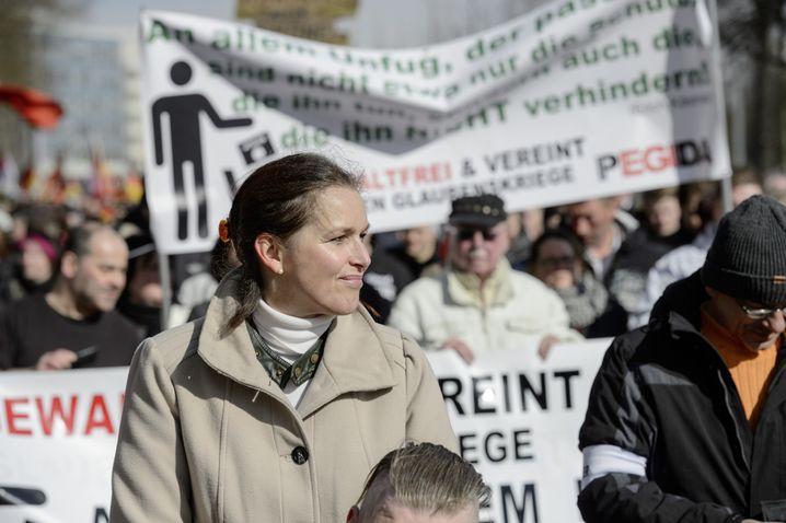 Festerling: Hamburger Frontfrau von Pegida