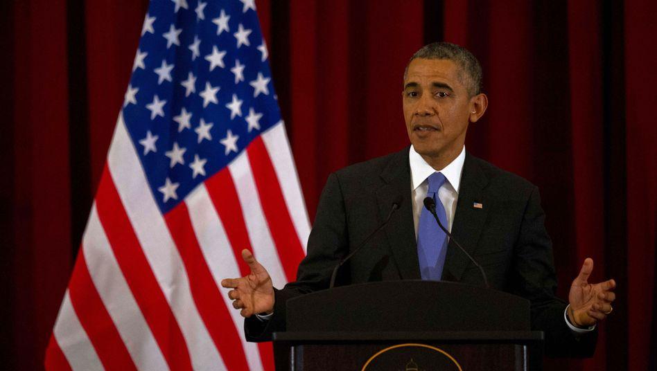 "Barack Obama (in Malaysia): Moskau ""hat keinen Finger gerührt"""