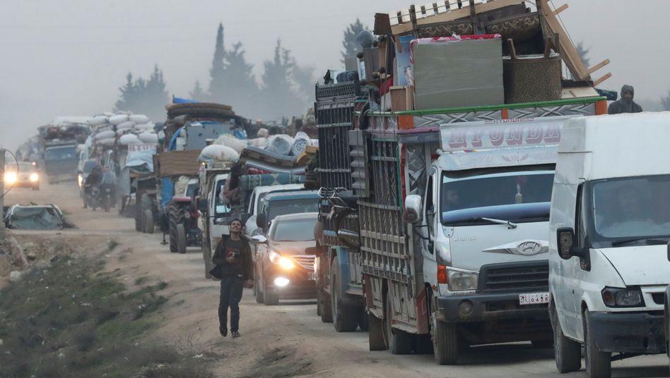 Nach Attacke in Idlib: Türkei droht offenbar mit Grenzöffnung für Flüchtlinge