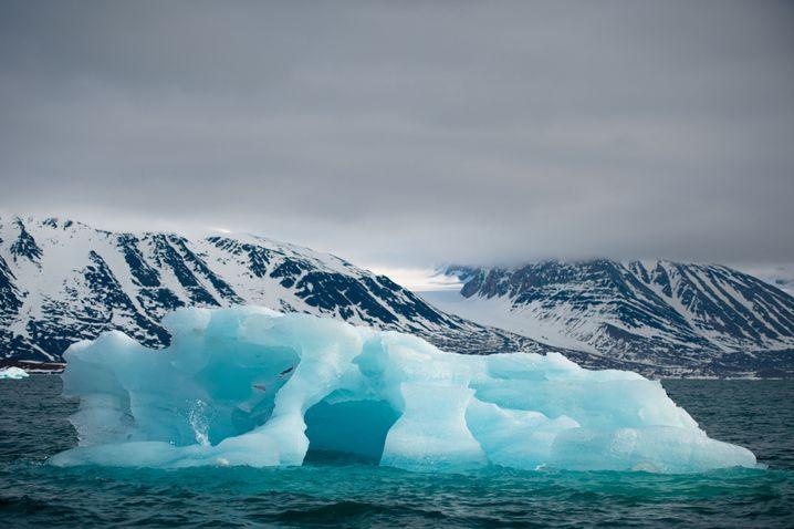 Eisberg vor der norwegischen Küste